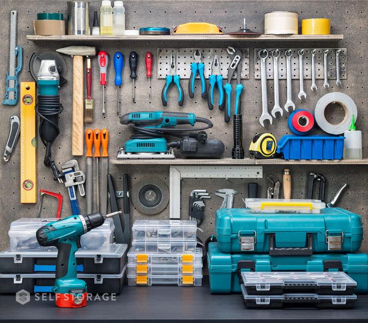 SS Self Storage Veja como organizar seu quartinho de ferramentas